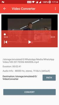 Video MP3 Converter Cutter apk screenshot
