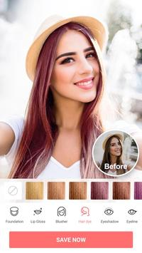Selfie Camera - Beauty Camera & Photo Editor captura de pantalla de la apk