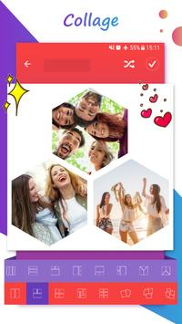 photo collage editor poster