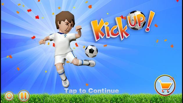 Kick Up! Soccer Juggle Tricks poster