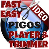 Pigos Video Player & Trimmer icon