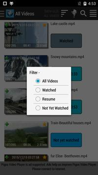 Pigos Video Player & Trimmer apk screenshot