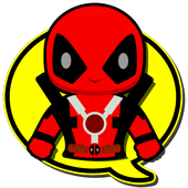 Superhero Stickers icon