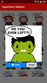 Superhero Stickers screenshot 3