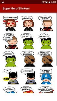 Superhero Stickers poster