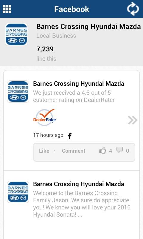 Barnes Crossing Hyundai Tupelo Ms >> Barnes Crossing Hyundai Tupelo For Android Apk Download