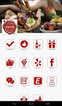 Hache Moderne Brasserie apk screenshot