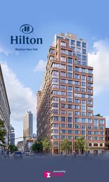 Hilton Brooklyn New York poster