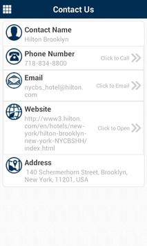 Hilton Brooklyn New York apk screenshot