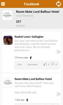 Lord Balfour Hotel apk screenshot