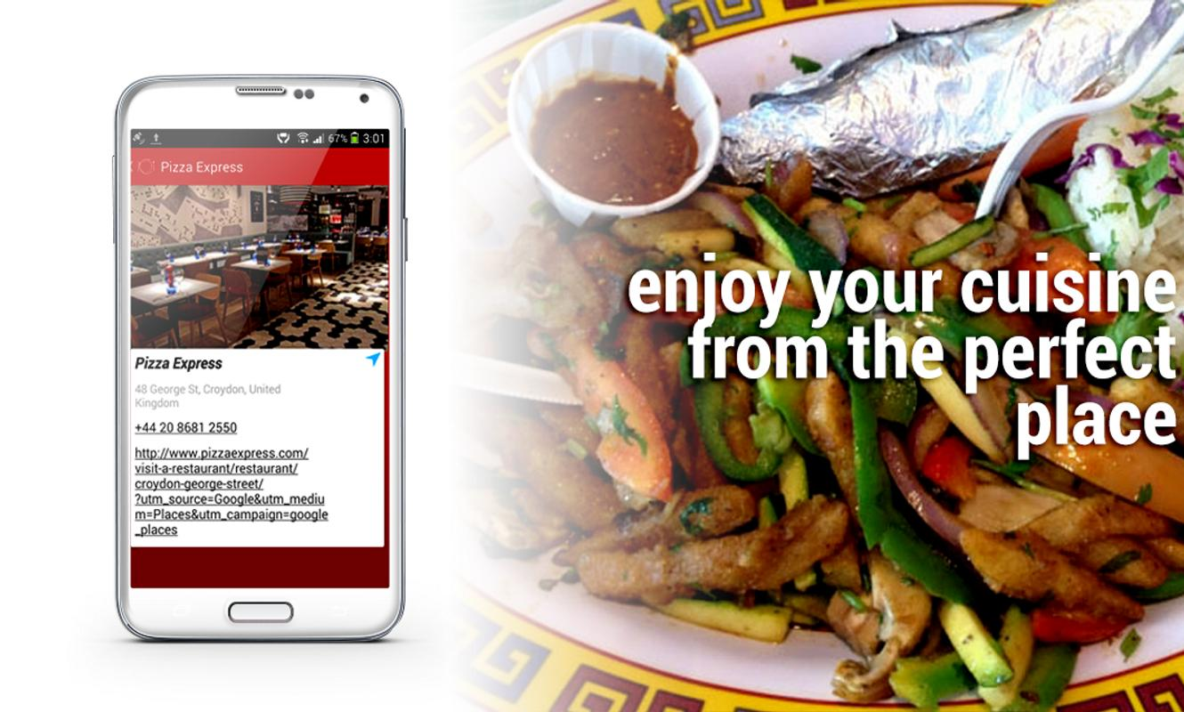 Find Restaurants Free Apk Screenshot