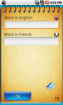 Shuett- Memorize english words apk screenshot