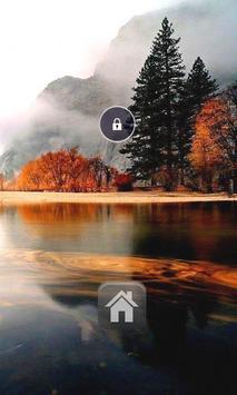 Peaceful Lake Theme Locker poster