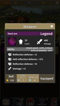 HoneyJam Hero - Infinity idle hero screenshot 2