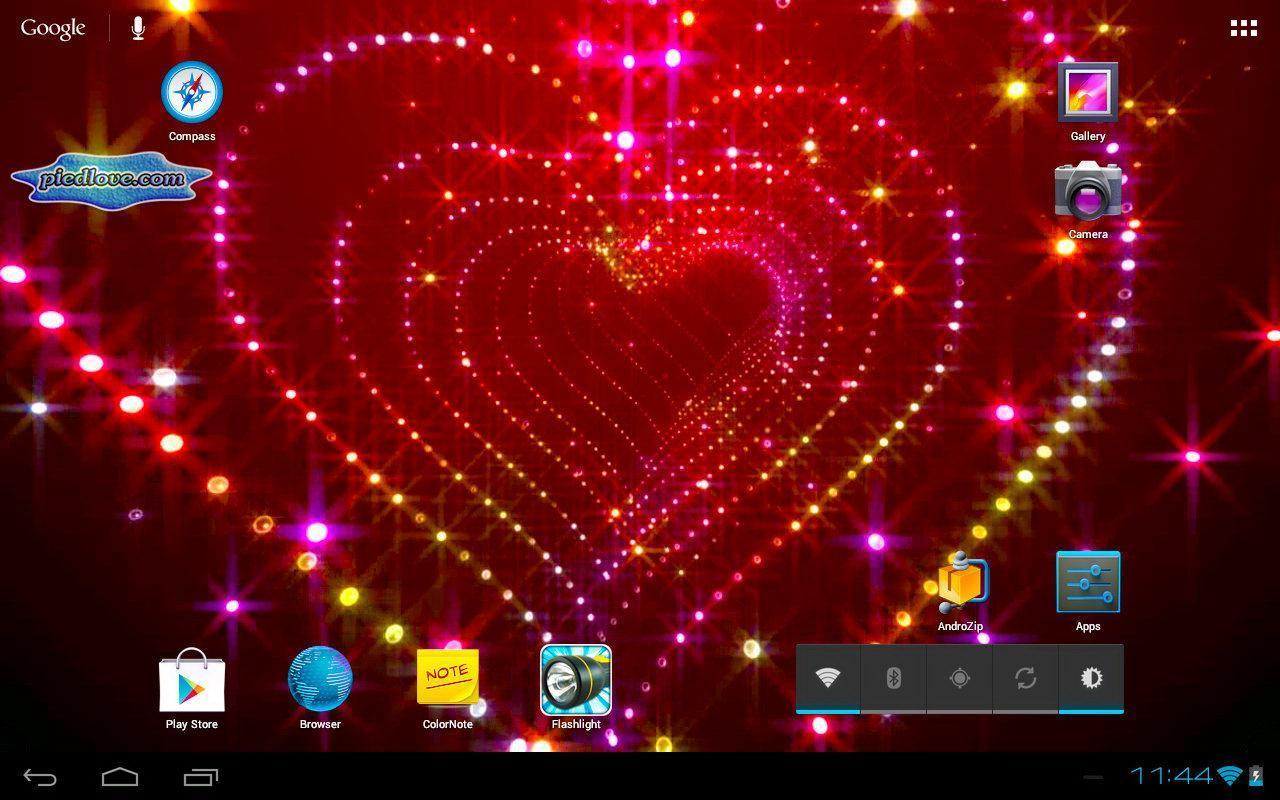 tunnel glitter spark heart 3d apk ダウンロード 無料 カスタマイズ