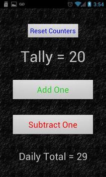 Simple Tally Counter apk screenshot