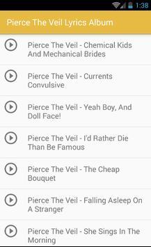 Pierce The Veil Lyrics Album apk screenshot