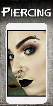 Piercing photo editor - Fake piercings screenshot 23