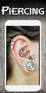 Piercing photo editor - Fake piercings screenshot 2