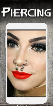 Piercing photo editor - Fake piercings screenshot 9