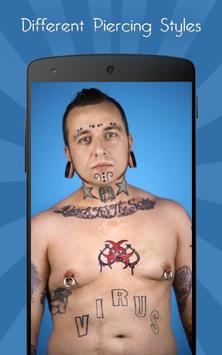Body Piercings Jewelry Editor apk screenshot