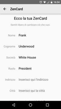 ZenCard screenshot 1