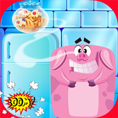 Pig and Cookie Addicting Game icon