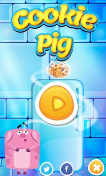 Pig and Cookie Addicting Game poster