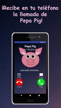 Call Simulator For Pepa Pig screenshot 1