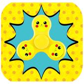 Pikachu Fidget Spinner icon