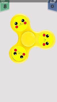 Pikachu Fidget Spinner poster