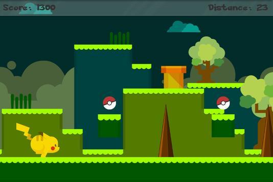 Pikatchu Flat Run screenshot 7