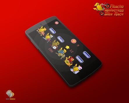 Pikachu Motocross Bike Race apk screenshot