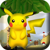 Pikachu Running icon