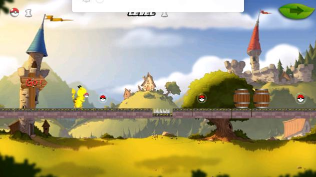 Pikachu Running apk screenshot