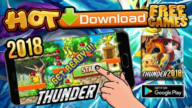 Pikachu Thunder Topaz Adventure Escape poster