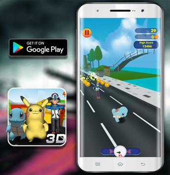 Temple Pikachu Subway and Squirtle Run screenshot 3