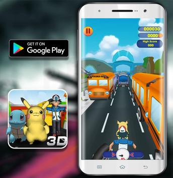 Temple Pikachu Subway and Squirtle Run screenshot 1