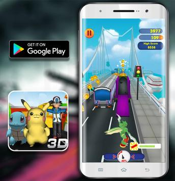 Temple Pikachu Subway and Squirtle Run screenshot 7