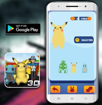 Temple Pikachu Subway and Squirtle Run screenshot 5