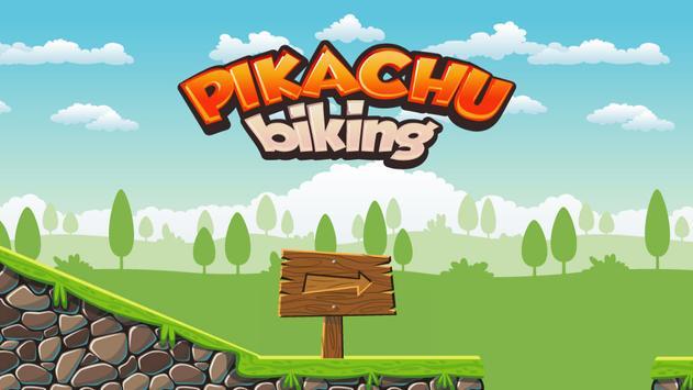 BMX Pikachu Go Bike poster