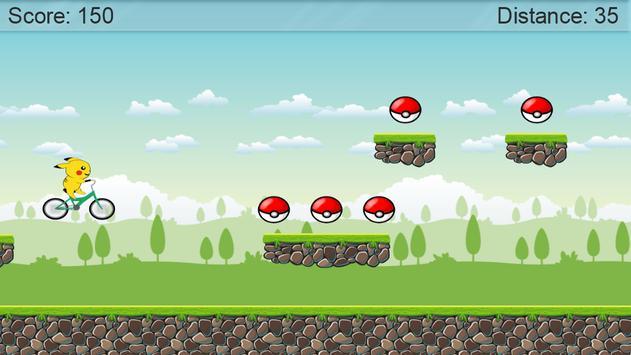 BMX Pikachu Go Bike screenshot 2