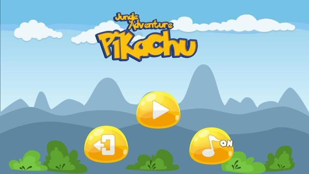 Pikacu Jungle Adventure - Super World poster