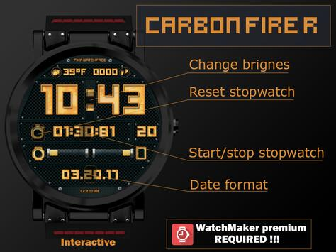 Carbon Fire R poster
