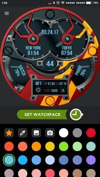 Steel smile SXT2 Watch Face apk screenshot