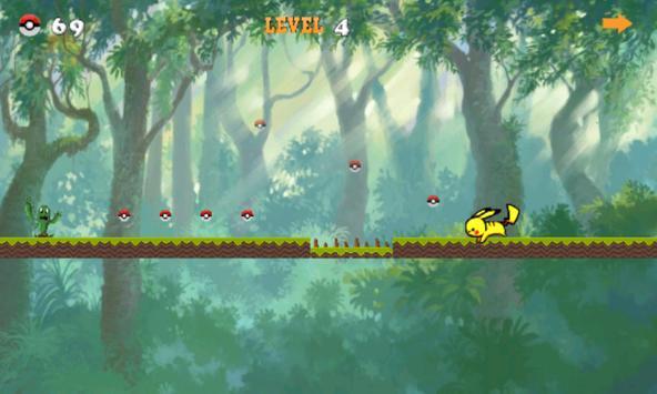 Pikapika Running Adventure apk screenshot