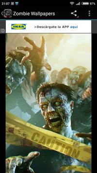 Zombie Wallpapers screenshot 3