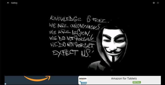 Anonymous Wallpapers HD apk screenshot