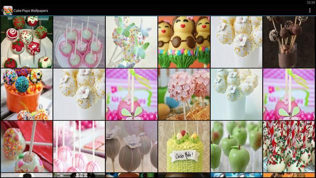 Cake Pops Wallpapers apk screenshot