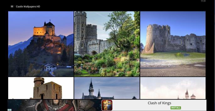 Castle Wallpapers HD apk screenshot